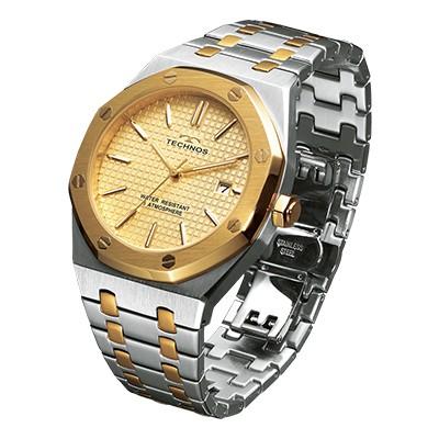 テクノス ドレス腕時計グランポート