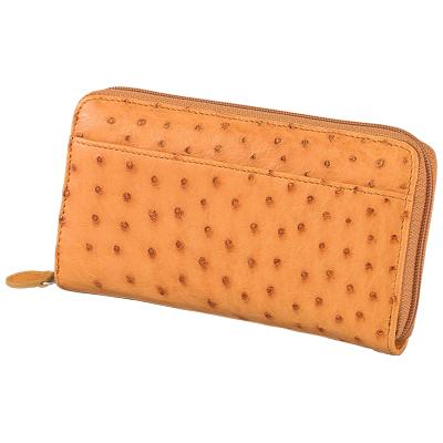 オーストリッチラウンドファスナー財布