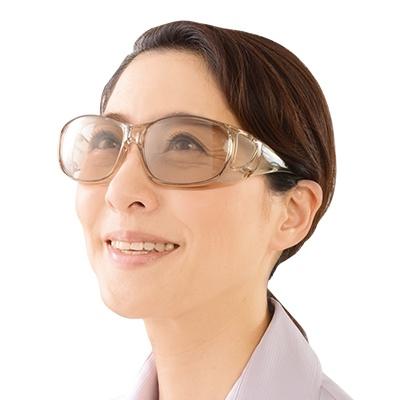 光学専門メーカーが開発 ゴーグル型拡大鏡