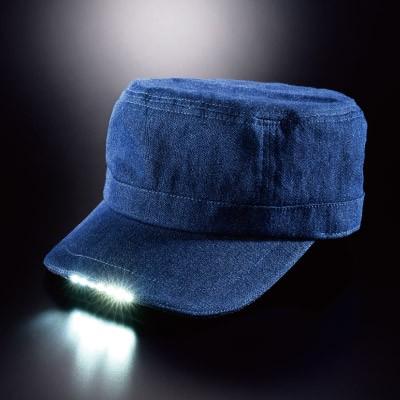 LEDライト付き帽子2個組