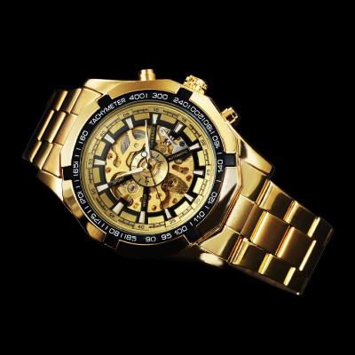 オートマティック スケルトン腕時計