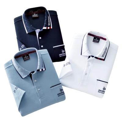 DMS五分袖ポロシャツ3色組