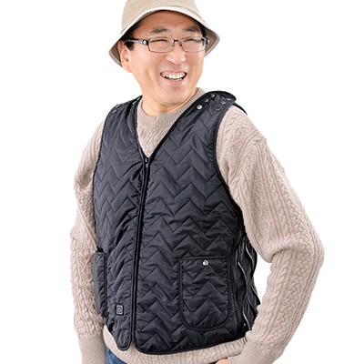 <日本直販> ヒーター内蔵ベスト ウォームフィット