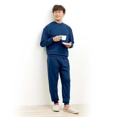男性用ふんわり暖かパジャマ2色組