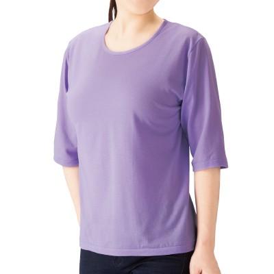 ひんやり涼感7分袖Tシャツ3色組