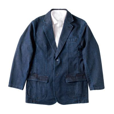 <岡山デニム>格上げジャケット