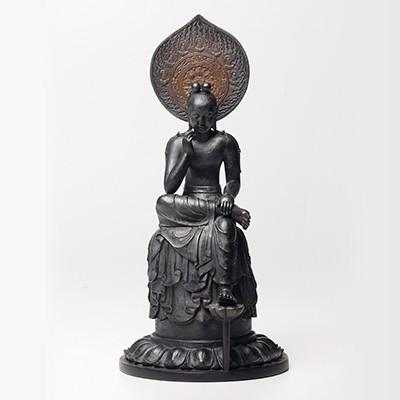 リアル菩薩半跏像(ぼさつはんかぞう)