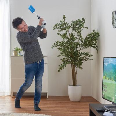 家庭用シミュレーションゴルフ ジョイスイング