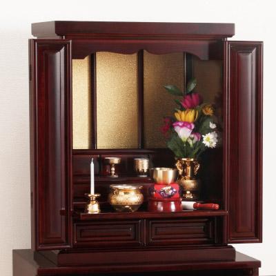 天然木 桐製上置仏壇