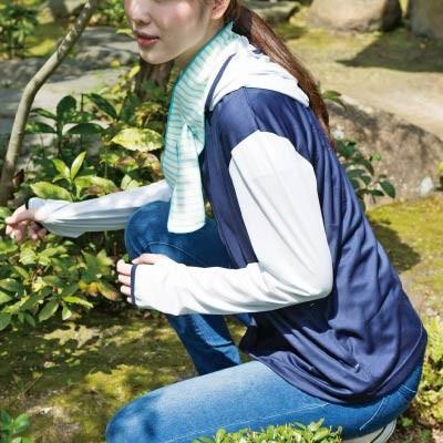 防虫UVパーカー&涼ミニタオル