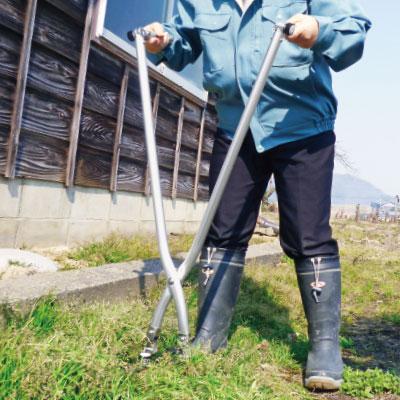 立ち作業用草刈りハサミ