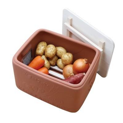 テラコッタ野菜ストッカー