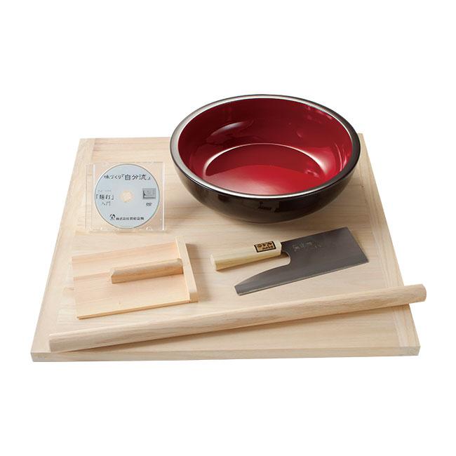 家庭用麺打ちセット(DVD付き)