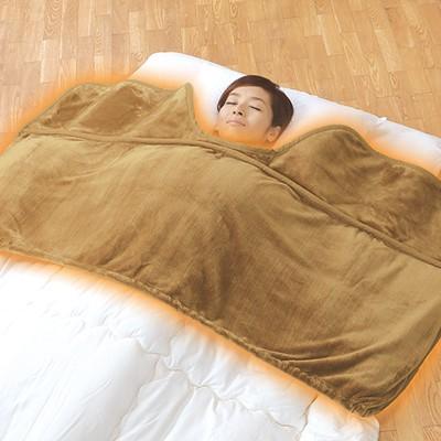 とろけ〜る毛布のようなくり衿ふとん衿カバー