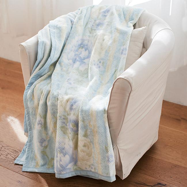 日本製 オールシーズン綿毛布