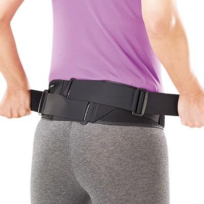 <日本直販> <ミズノ>腰部骨盤ベルト 補助ベルト付き