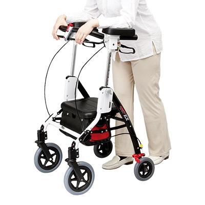 日本直販オンライン肘置き付き歩行車アームフィットEX