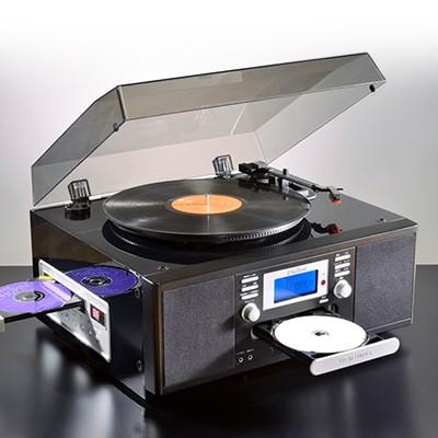 <日本直販> ピアノ仕上げCDコピーレコードプレーヤー
