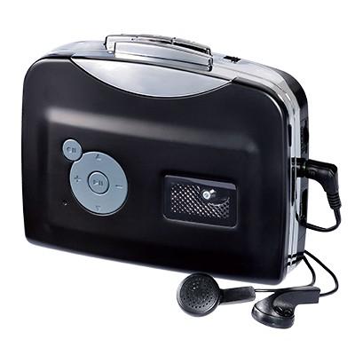 シニアのためのカセットテープ録音機
