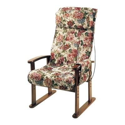 ヒーター付きゴブラン高座椅子