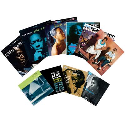 ジャズLPレコードコレクション10巻セット