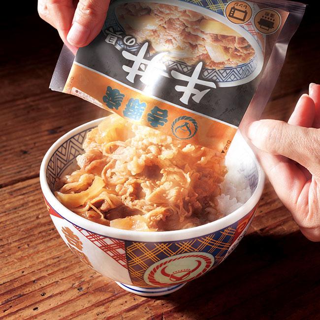 吉野家牛丼の具22袋+ミニ5袋