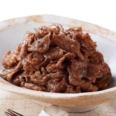 柿安の減塩牛肉しぐれ 90g×8袋セット
