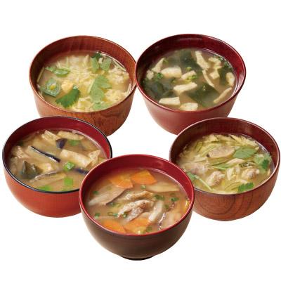 銀座<ろくさん亭>スープ・味噌汁詰合 計40袋