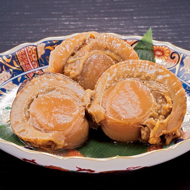 北海道噴火湾産大粒ほたてのうま煮 3袋