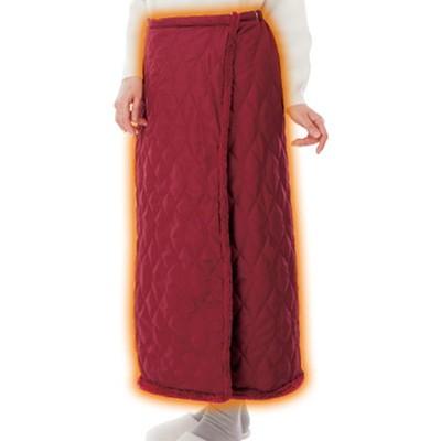 中わた入り裏ファー巻きスカート2枚セット