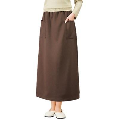 厚手ぬくぬく裏起毛スカート2色セット