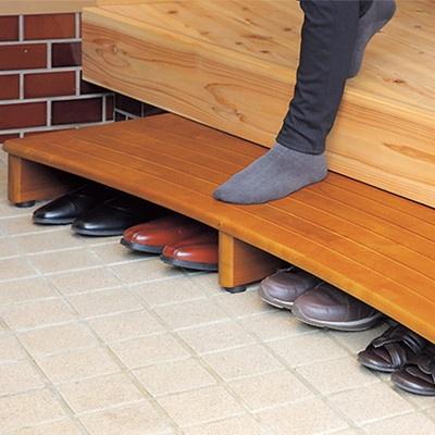 木製玄関台