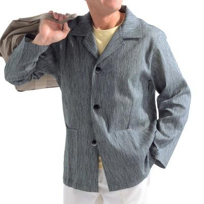 高島ちぢみジャケット