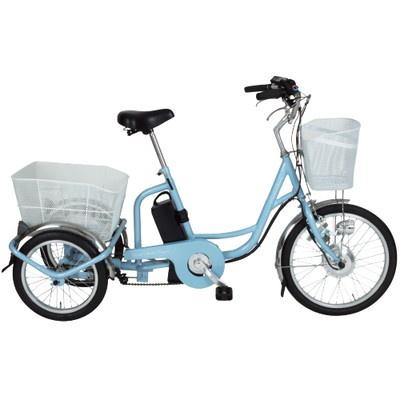 あしらくチャーリー電動三輪自転車
