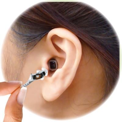 超小型デジタル補聴器  Qリーフプロ
