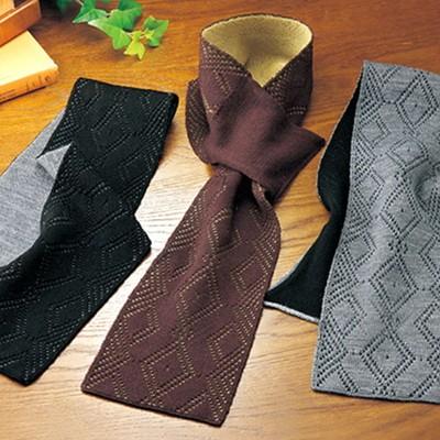 日本製ウール100% マフラー3色セット