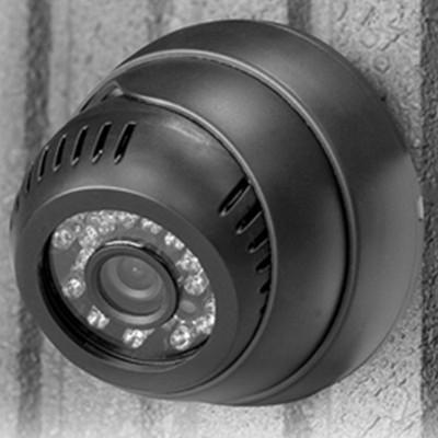 <日本直販> 赤外線LED搭載防犯カメラ