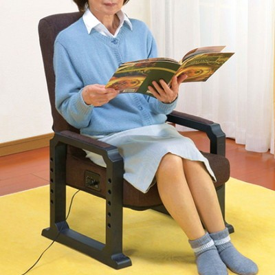 ヒーター付き高座椅子