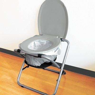 折りたたみ式どこでもトイレ