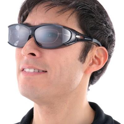 ピラーレス 偏光オーバーサングラス