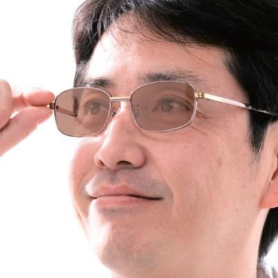 老眼鏡付き調光サングラス