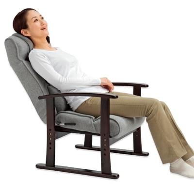 <日本直販> ぼりゅ〜む高座椅子