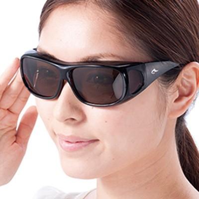 目元を守るUVカットサングラス