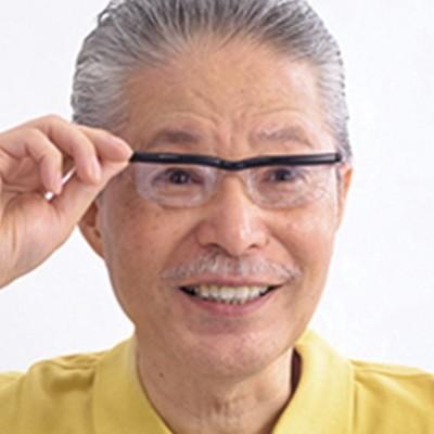 日本直販オンライン自分で度数を調節できるメガネ2本セット