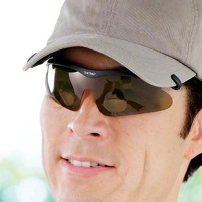 帽子に掛ける偏光シニアグラス 2色セット