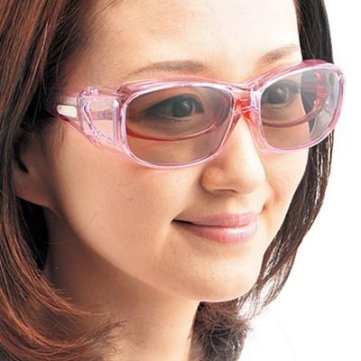 眼鏡の上から掛けられるUVサングラス