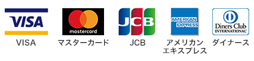 visa master card jcb american express diners club international